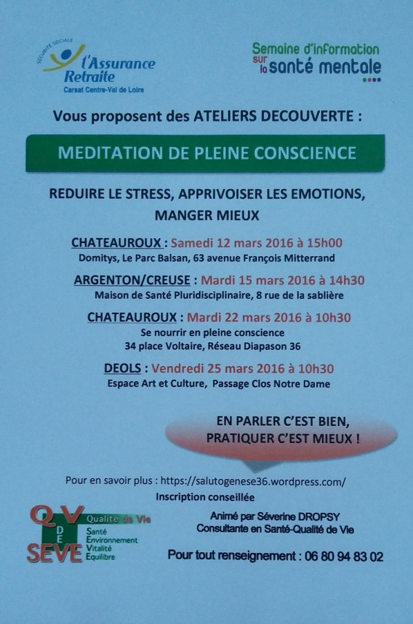Affiche ateliers mars 2016